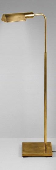 Floor standing antique brass reading lamp gustavian style treniq 1 1522671712340