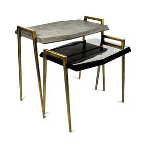 TB Meteor Coffee Table - Ginger Brown - Treniq