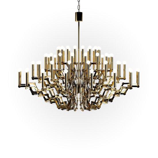 Mercury chandelier large gold metal contemporary chandeliers mercury chandelier large preciosa lighting treniq 0 aloadofball Image collections