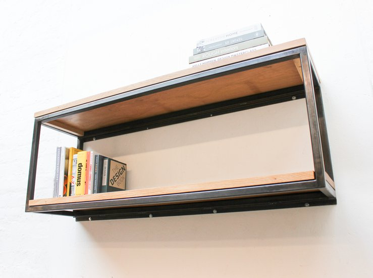 Orla welded dark steel box section and premium oak shelves carla muncaster treniq 1 1522918083880