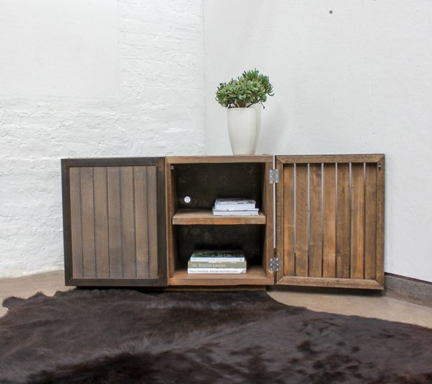 Louisa reclaimed scaffolding board media unit with slatted wood and perfora carla muncaster treniq 1 1522918319874