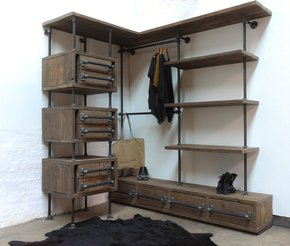 Stefan-Reclaimed-Scaffolding-&-Steel-Pipe-3-Sided-Industrial-Open-Wardrobe-_Carla-Muncaster_Treniq_0