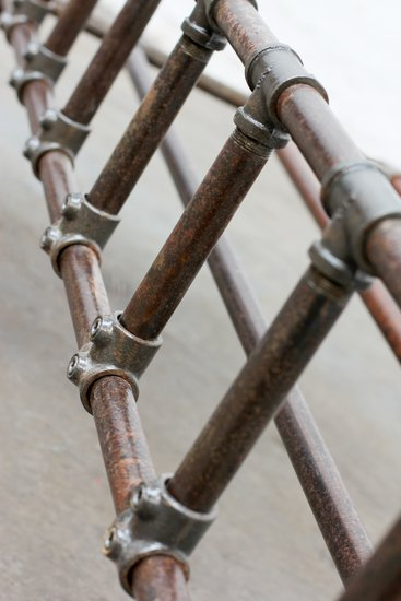 Mark distressed steel pipe and industrial scaffolding fittings kingsize bed carla muncaster treniq 1 1523029498446