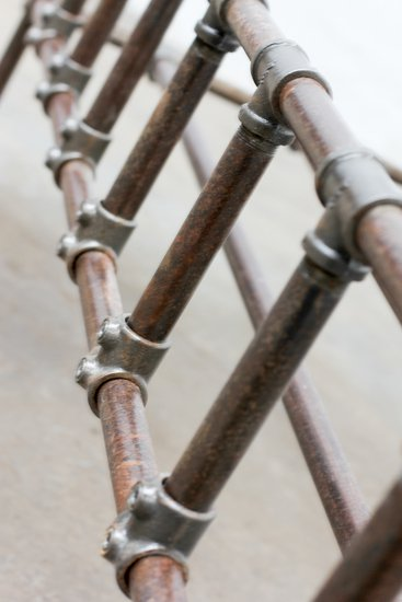 Mark distressed steel pipe and industrial scaffolding fittings kingsize bed carla muncaster treniq 1 1523029498450