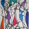 Nine colour abstract no.9 kevin jones treniq 1 1523196839533