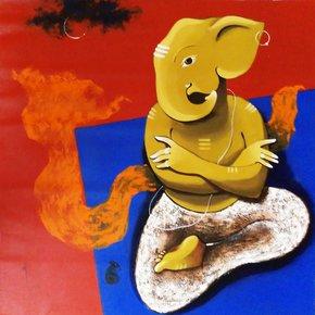 God-Ganesha_Prakash-Pore_Treniq_0