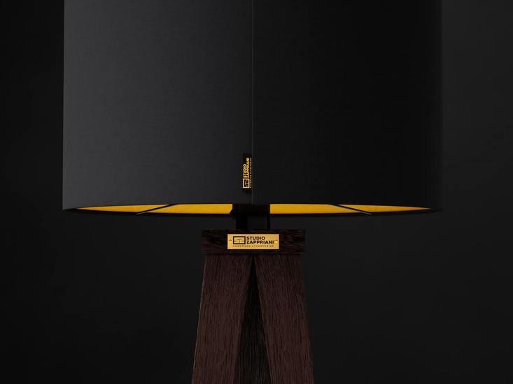 Handmade standing lamp tripod zapprian studio zappriani treniq 1 1523452435518