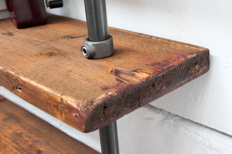 Hector reclaimed scaffolding   steel pipe shelving industrial open wardrobe carla muncaster treniq 1 1523873377270