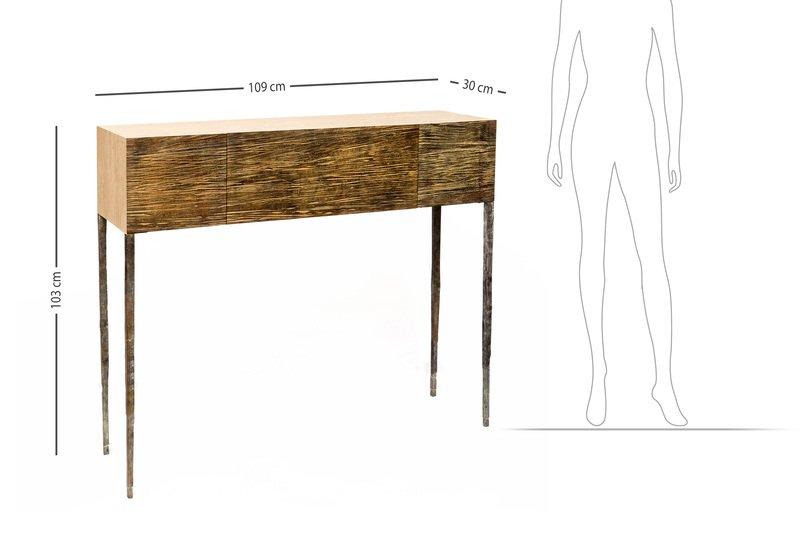 Bronze frame sideboard candide bronze treniq 6