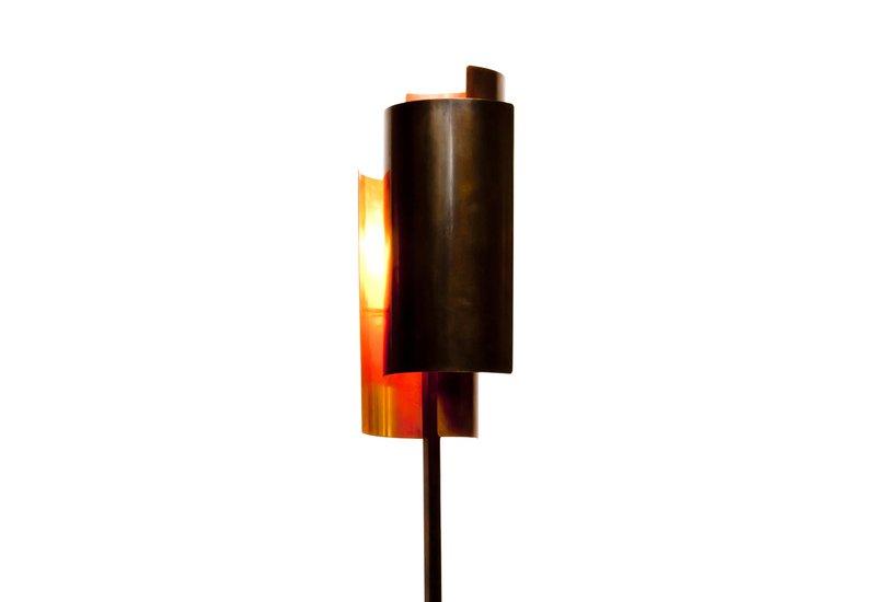 Bronze texture floor lamp candide bronze treniq 2