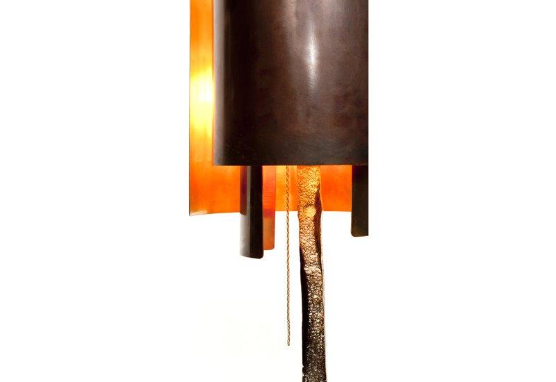 Bronze texture floor lamp candide bronze treniq 4