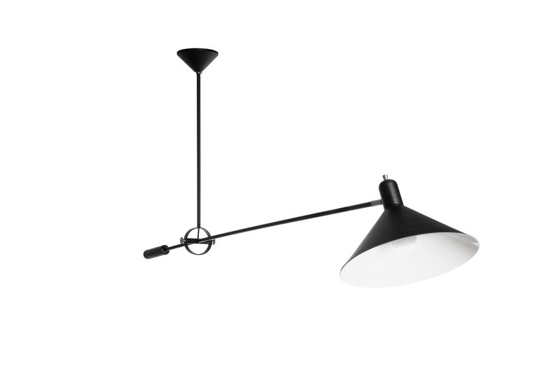 Ceilinglamp no. 1506  the upper king  black anvia treniq 1 1523971272062
