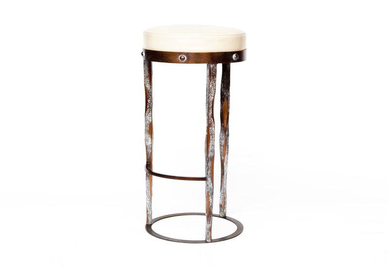 Haut perche bar stool candide bronze treniq 1