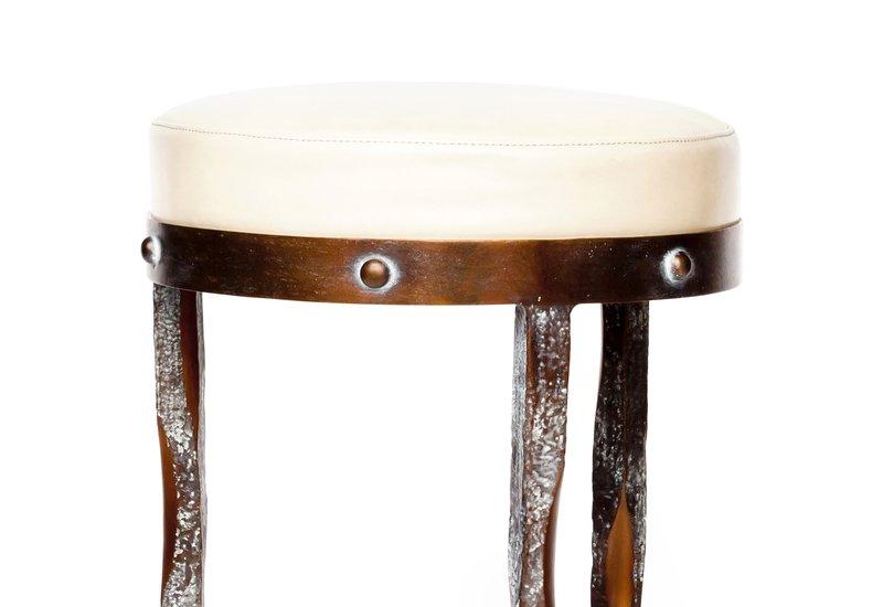 Haut perche bar stool candide bronze treniq 2