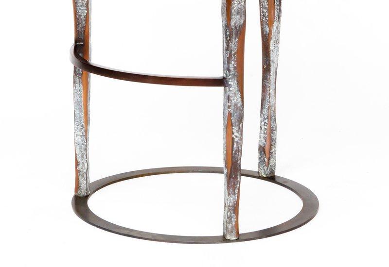Haut perche bar stool candide bronze treniq 3