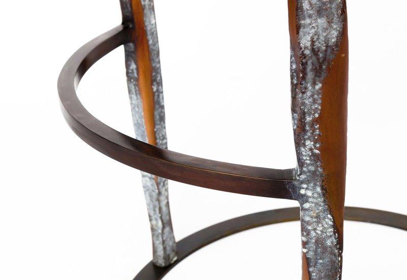 Haut perche bar stool candide bronze treniq 4