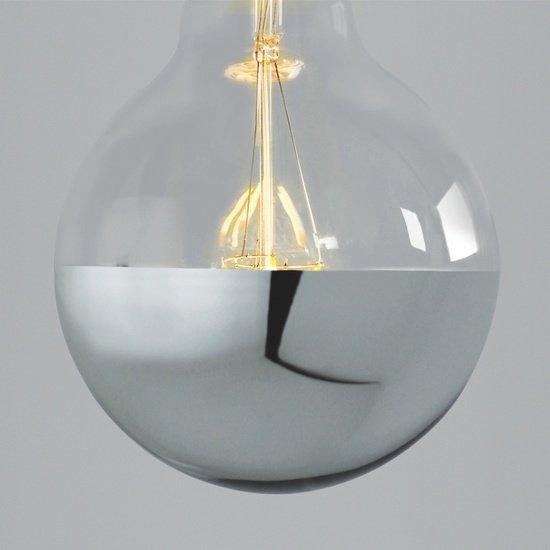 Super globe led filament silver cap edison screw nook london  treniq 1 1524040364617
