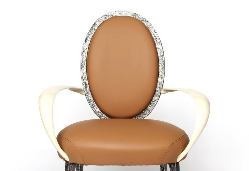 La bergere armchair candide bronze treniq 3