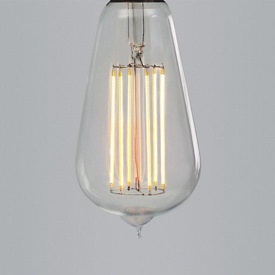 Nostalgia lights large squirrel cage led filament edison screw nook london  treniq 1 1524043478770
