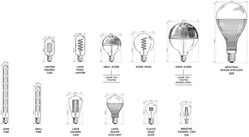Industrial edison spotlight led silver nook london  treniq 1 1524043726176