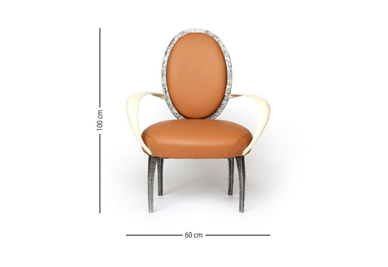 La bergere armchair candide bronze treniq 6