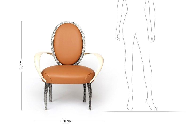 La bergere armchair candide bronze treniq 7