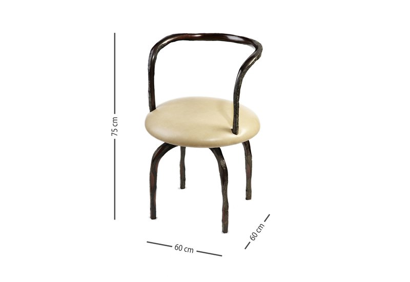 Madame armchair candide bronze treniq 4