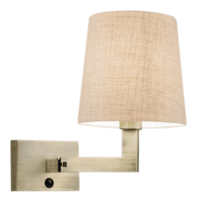 Antique-Brass-Wall-Light-With-Swivel-Arm_Gustavian-Style_Treniq_0