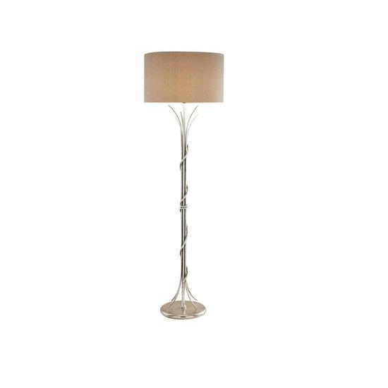 Florentine antique silver leaf floor lamp gustavian style treniq 2 1524225728748