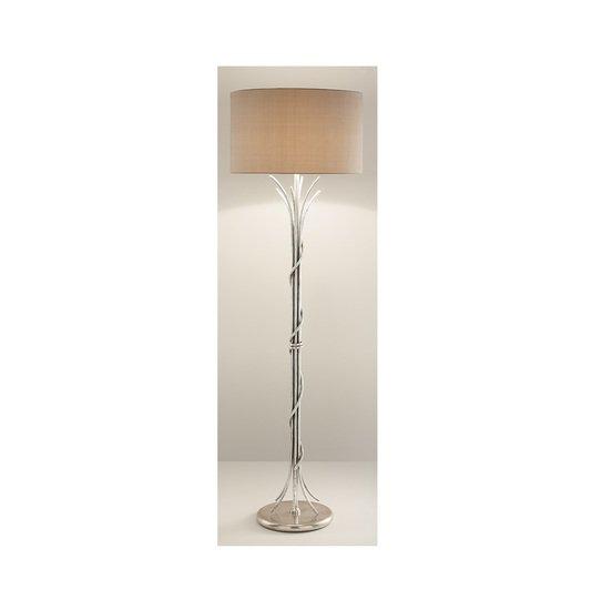 Florentine antique silver leaf floor lamp gustavian style treniq 2 1524225769504
