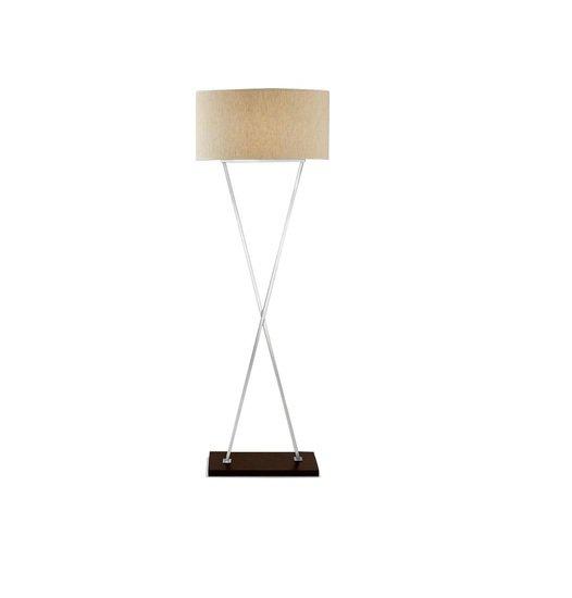 Polished chrome and wood lamp gustavian style treniq 2 1524226716094