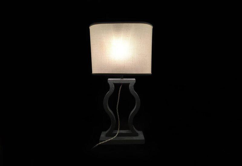 Black marble table lamp matlight milano treniq 1