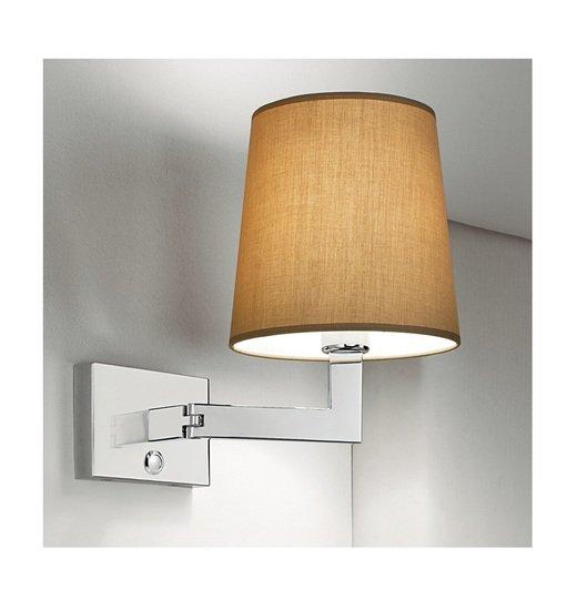 Polished chrome wall light with swivel hinge gustavian style treniq 2 1524226920112