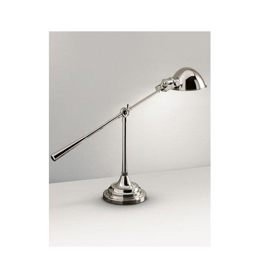 Polished nickel desk light gustavian style treniq 2 1524227460236