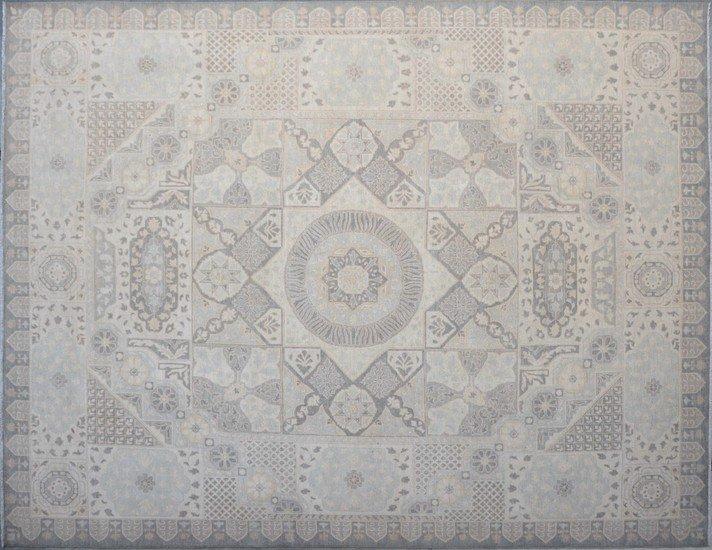 Greyish mamluck rug talam   khaadi treniq 1 1524230777219