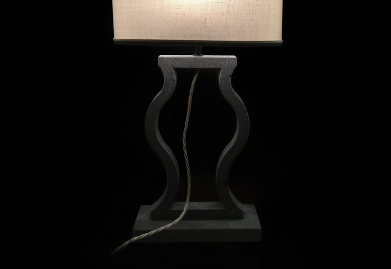 Black marble table lamp matlight milano treniq 3
