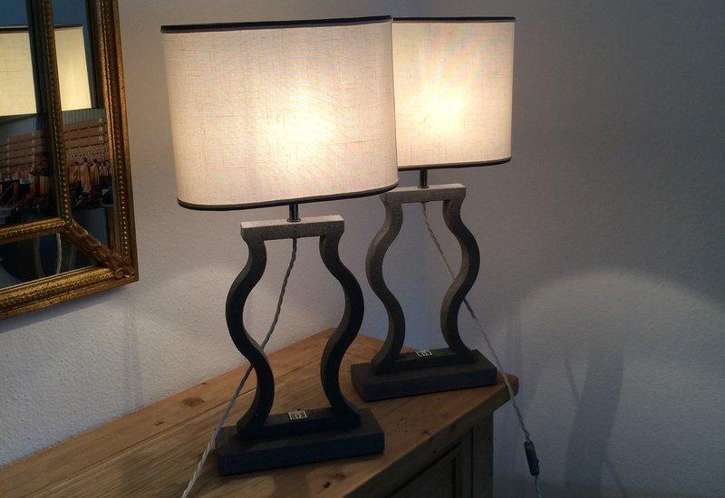Black marble table lamp matlight milano treniq 4