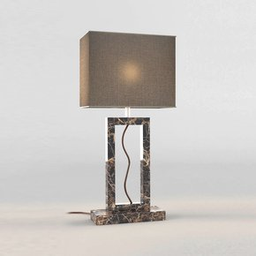 Brown Marble Table Lamp - Matlight Milano - Treniq
