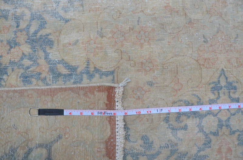 Pink vintage kirman sheared thin pile rug talam   khaadi treniq 1 1524233764426
