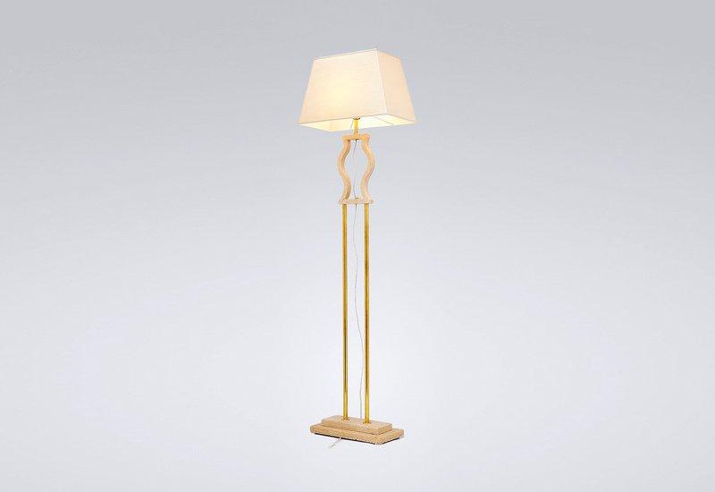Gold brass floor lamp matlight milano treniq 1