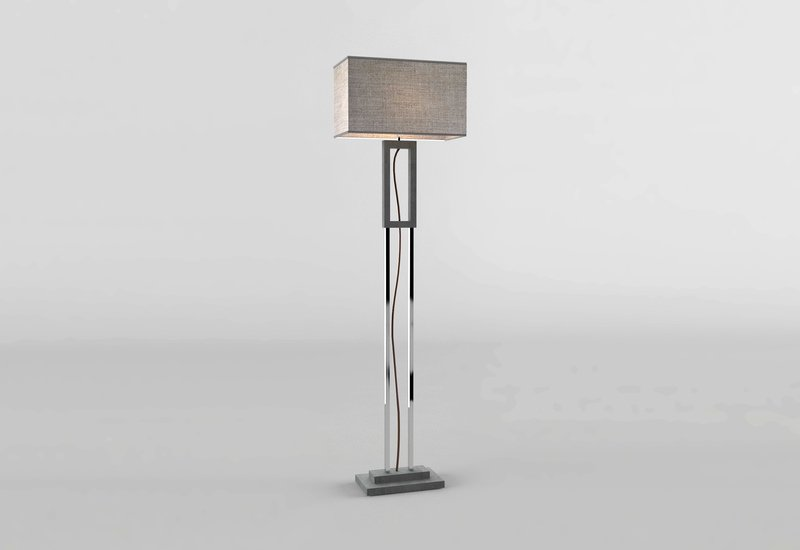 Grey marble floor lamp matlight milano treniq 1