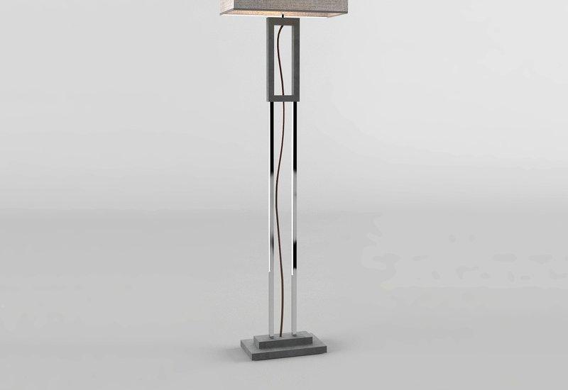 Grey marble floor lamp matlight milano treniq 3