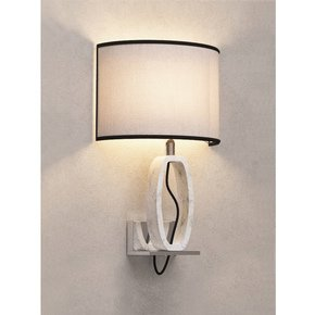 White Marble Wall Lamp - Matlight Milano - Treniq