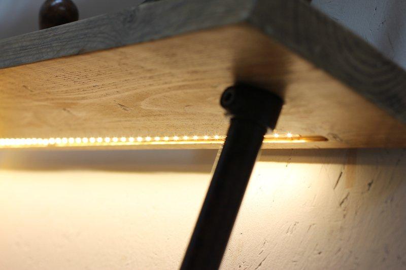 Mcleod reclaimed scaffolding  steel pipe industrial corner desk   shelves  carla muncaster treniq 1 1524563900856
