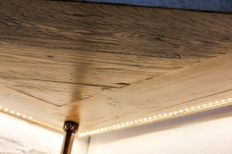 Mcleod reclaimed scaffolding  steel pipe industrial corner desk   shelves  carla muncaster treniq 1 1524563900861
