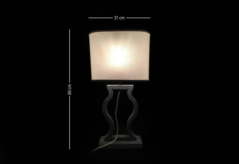 Black marble table lamp matlight milano treniq 5