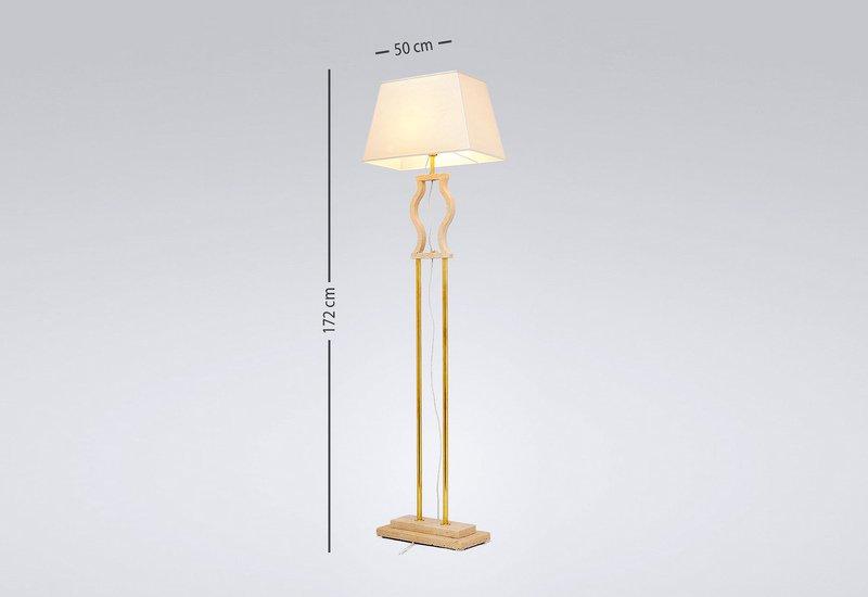 Gold brass floor lamp matlight milano treniq 4