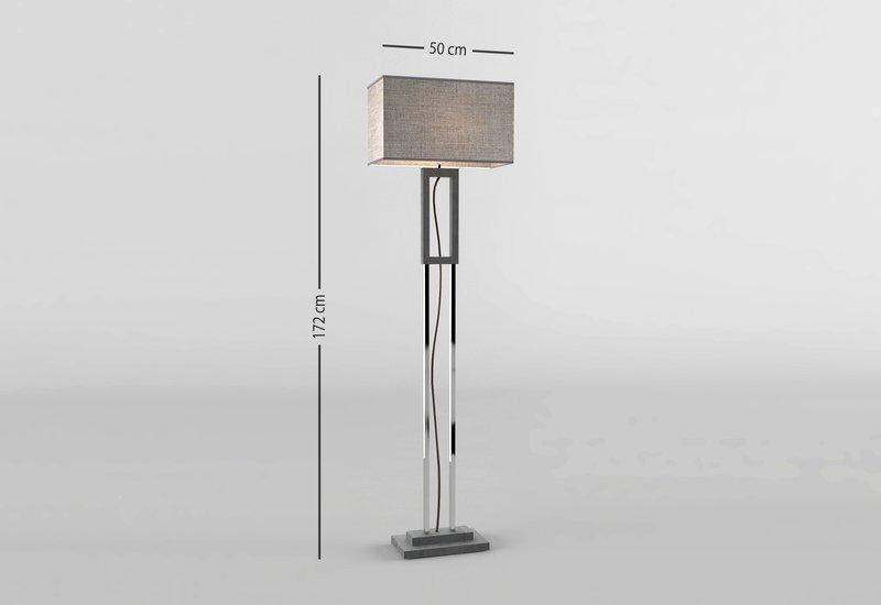 Grey marble floor lamp matlight milano treniq 4