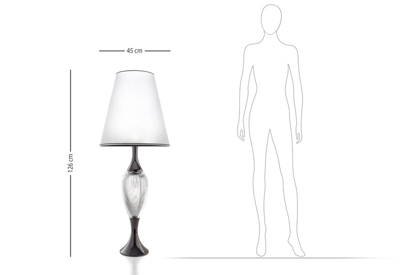 Queen table lamp il paralume marina treniq 5