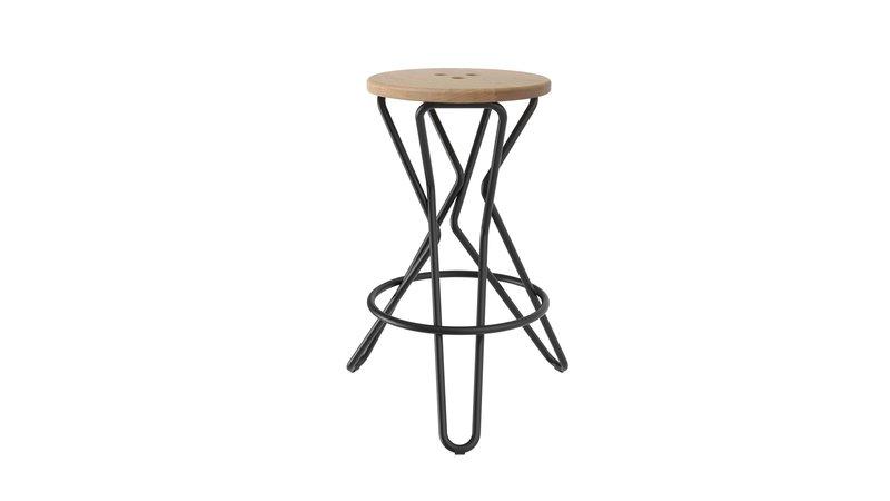 Olly bar stool medium junction fifteen treniq 7 1525164849896